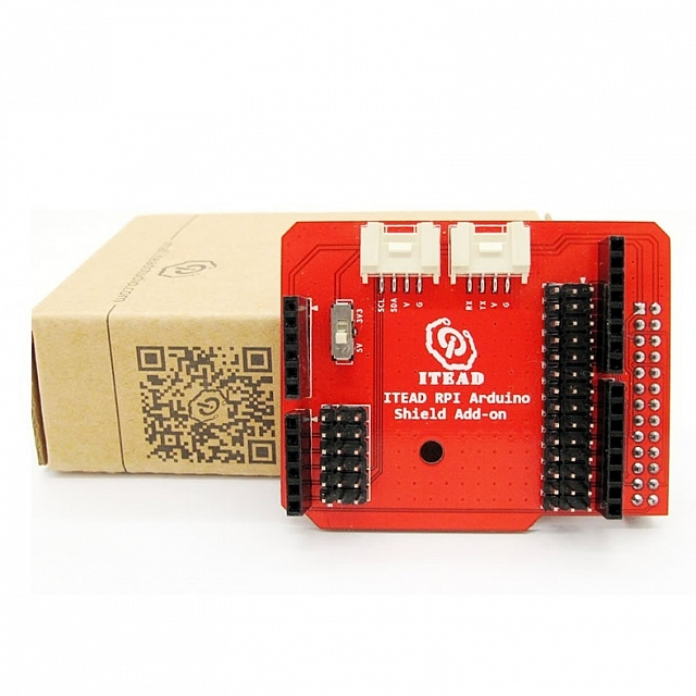 Raspberry Pi Arduino Shield Add-on V1.0 - Click Image to Close